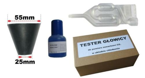 Zylinderkopfdichtung Tester Messer Gummi CO2 Dichtheitstest Lecktester Prüfen