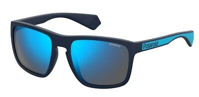 2019 Moda Occhiali Da Sole Sunglasses Polaroid Pld 2079 S Fll 5x Blu Polarizzato 100% Uv Possedere Sapori Cinesi
