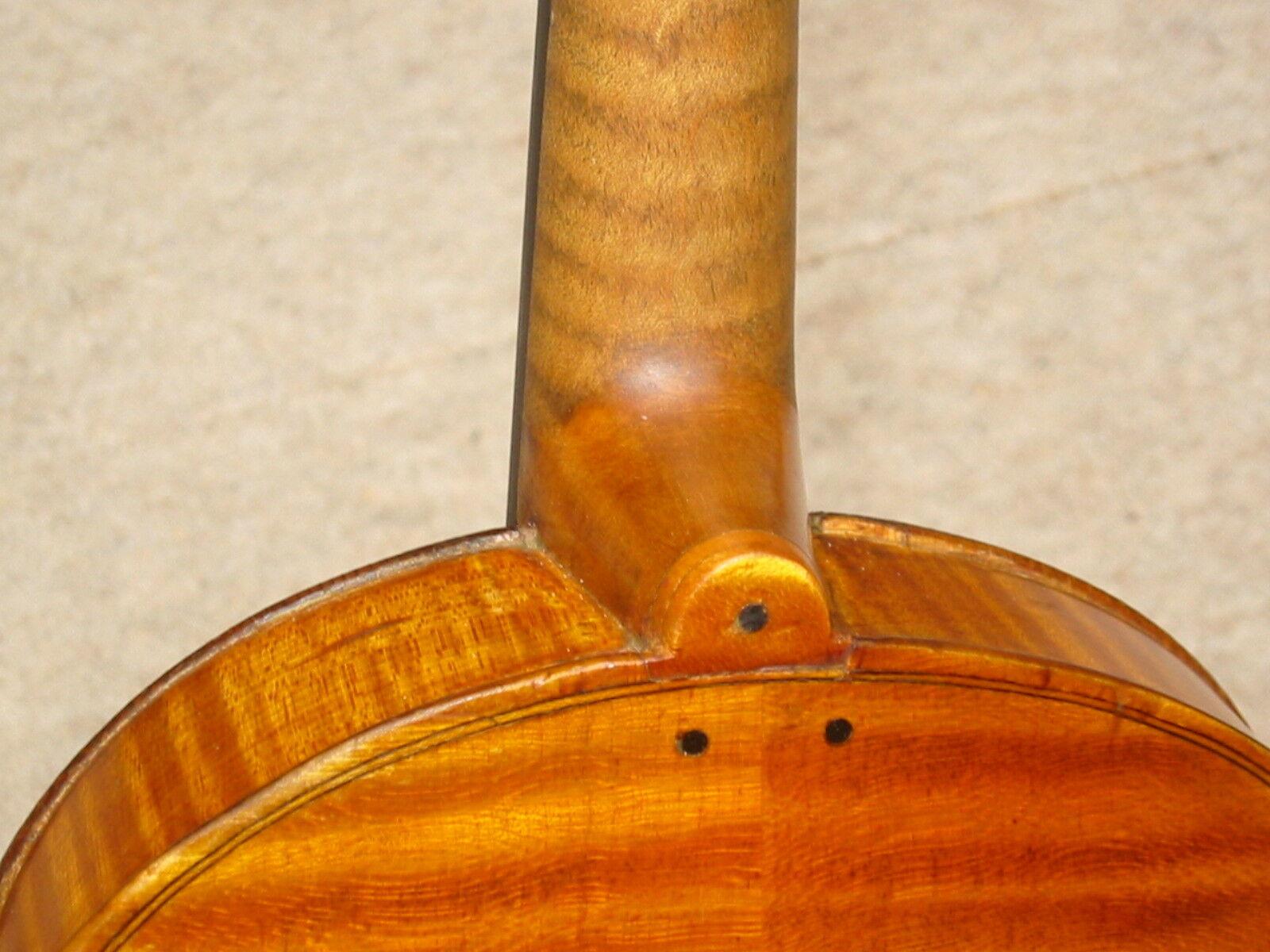Lindo violín  Frantisek Pavlicek Pragae , Hermoso flameado flameado flameado Volver 09fa2f