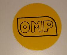 Adesivo Sticker OMP  da posizionare accanto al gancio di traino dell'auto