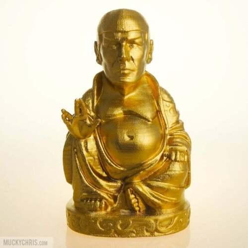 Spock BuddhaStar TrekBrilliant Gold