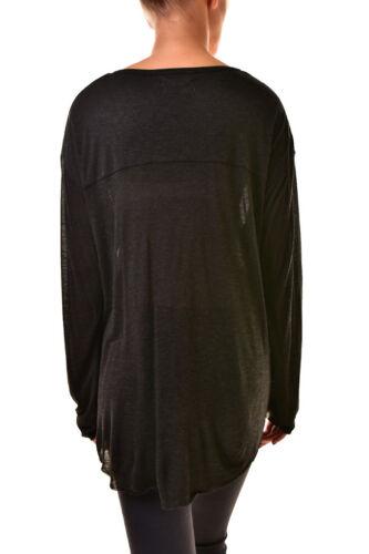 Womens 167 One Cashman Teaspoon Bcf811 18437b Top Rrp S Size Button Black New UUpq5