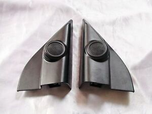 TOYOTA-HILUX-VIGO-2005-2012-BLACK-TWEETER-MOULD-ORIGINAL-SIDE-IN-DOOR-L-R