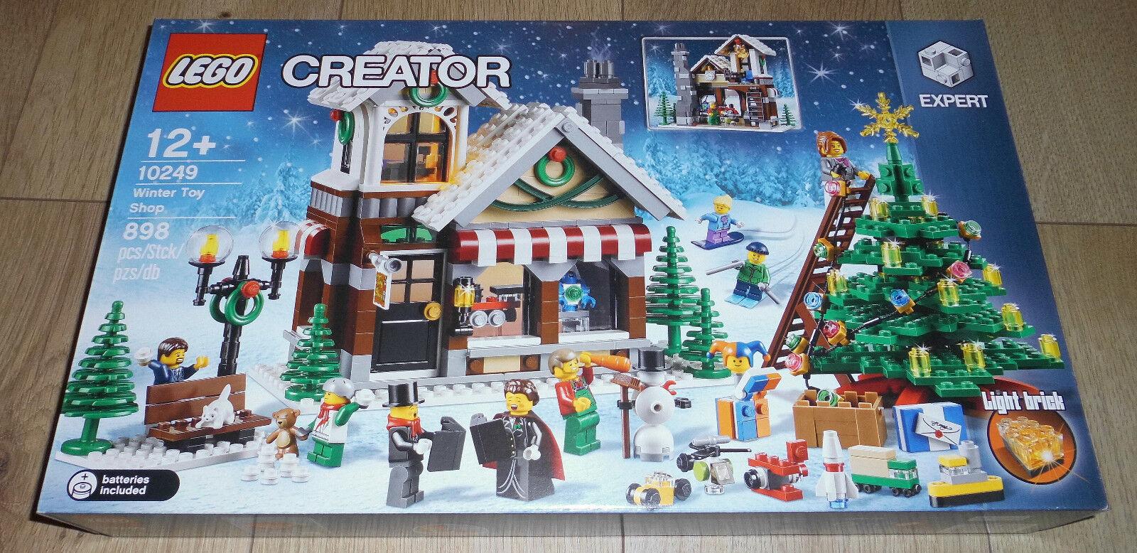 Noël est plein de joie LEGO Creator 10249 10249 10249 +++ de Noël Jouets +++ NEUF +++ 76f9ac