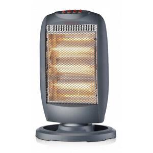 STUFA STUFETTA Riscaldatore alogeno a 3 potenze 400/800 / 1200w con termostato