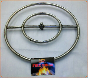 Image Is Loading Sierra Stainless Steel Fire Pit Ring Burners Sizes