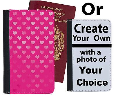Accurato Hot Rosa Amore Cuore Custodia Per Passaporto Polka Pois Puntini Dot Girly Cover C103-mostra Il Titolo Originale