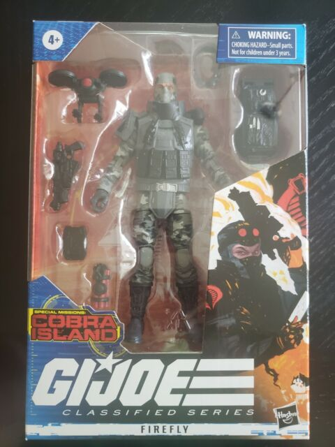 G.I. Joe Classified Series - FIREFLY Action Figure - TARGET EXCLUSIVE