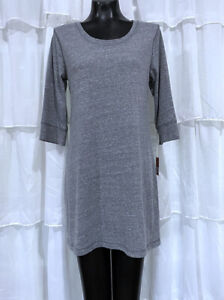 Large-NWT-MOSSIMO-Gray-Casual-Jersey-Dress
