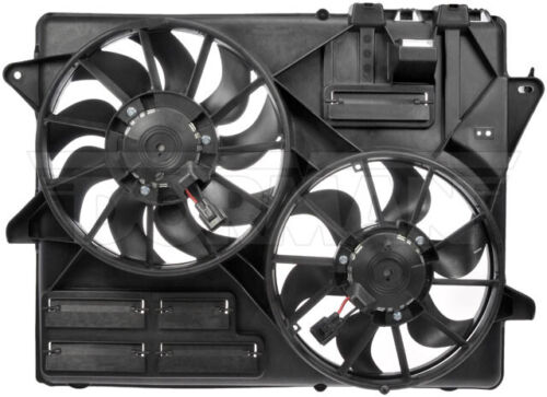 NEW Engine Radiator Dual Cooling Fan Assembly Dorman 621-537
