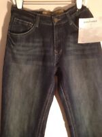 Men Southpole Premium Dark Distressed Jeans W34 L33