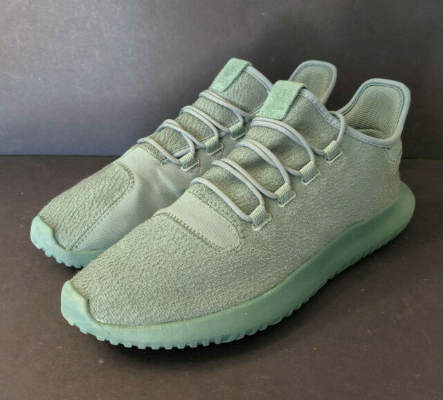 hot sales 803a7 ec90a Adidas Originals Tubular Shadow Trace Green US Size 12 BY3573