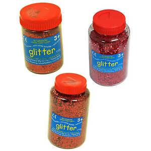 Red-Glitter-Shaker-100-g-250-g-400g-Artes-y-Oficios-de-Unas-arte-de-alta-calidad