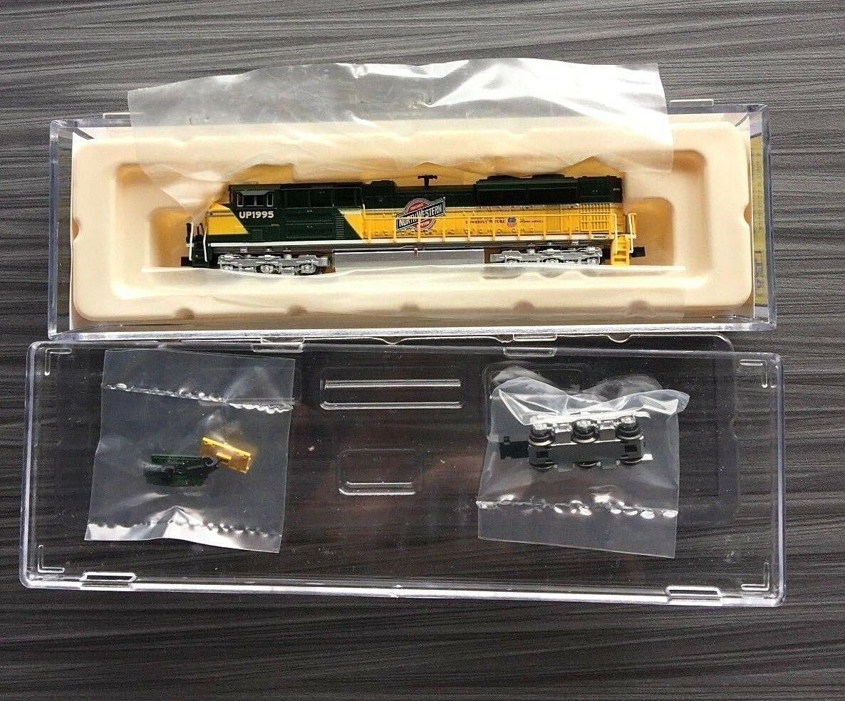 RARE NEW AZL SD70ACE UP Heritage • CNW RD 1995 ZL-63109-5 z scale 1:220