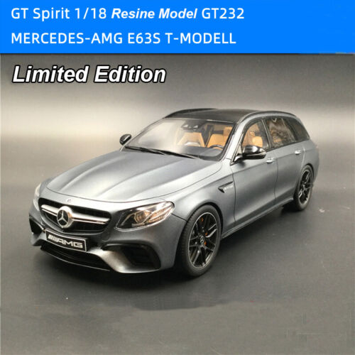 GT SPIRIT 1:18 Mercedes Benz AMG E63S T-MODELL GT232 Resine Diecast Model CarToy