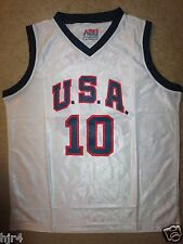 Kobe Bryant #10 USA Olympics Basketball Team Jersey XL Adult NEW