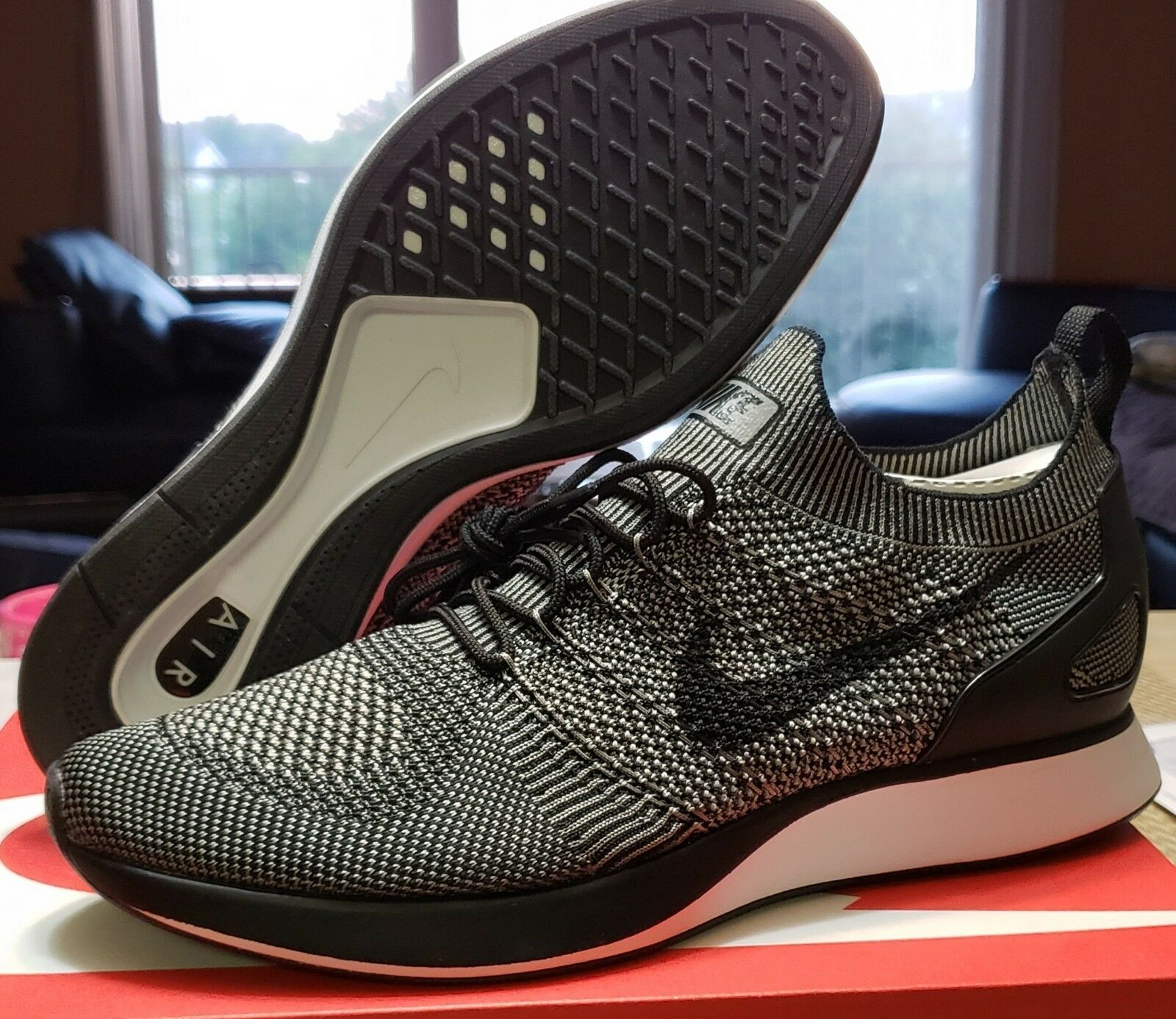 f5cab5c21a09 ... Nike Air Zoom Zoom Zoom Mariah Flyknit Racer 918264008 Men s Light  Charcoal size 10 21cb9b ...