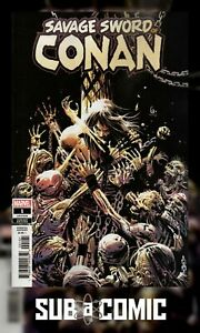 SAVAGE-SWORD-OF-CONAN-1-GARNEY-1-25-VARIANT-MARVEL-2019-1st-Print-COMIC