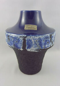 Seltene-60er-70er-Jahre-Design-Fat-Lava-Vase-Carstens-Toennieshof