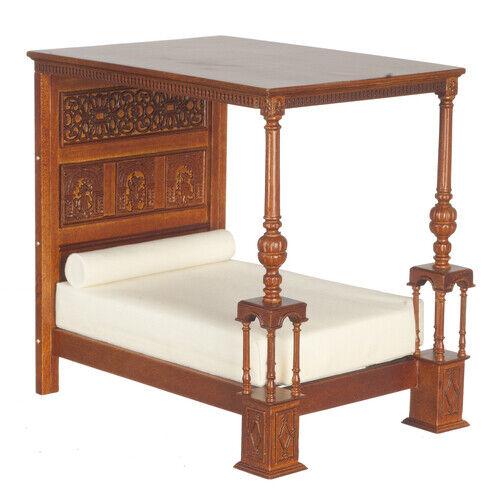 1 12 Scale JBM Miniature Tudor  Bed of Ware  buona qualità
