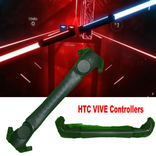 Pour HTC Vive Beat Saber Darth Maul Staff Dual Controller Holder /&Speed Improver