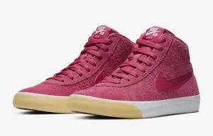 Nike-Sneaker-Scarpe-Uomo-Sb-Bruin-Hi-Fucsia-Skater-923112-601-Nuovo-Tgl-45