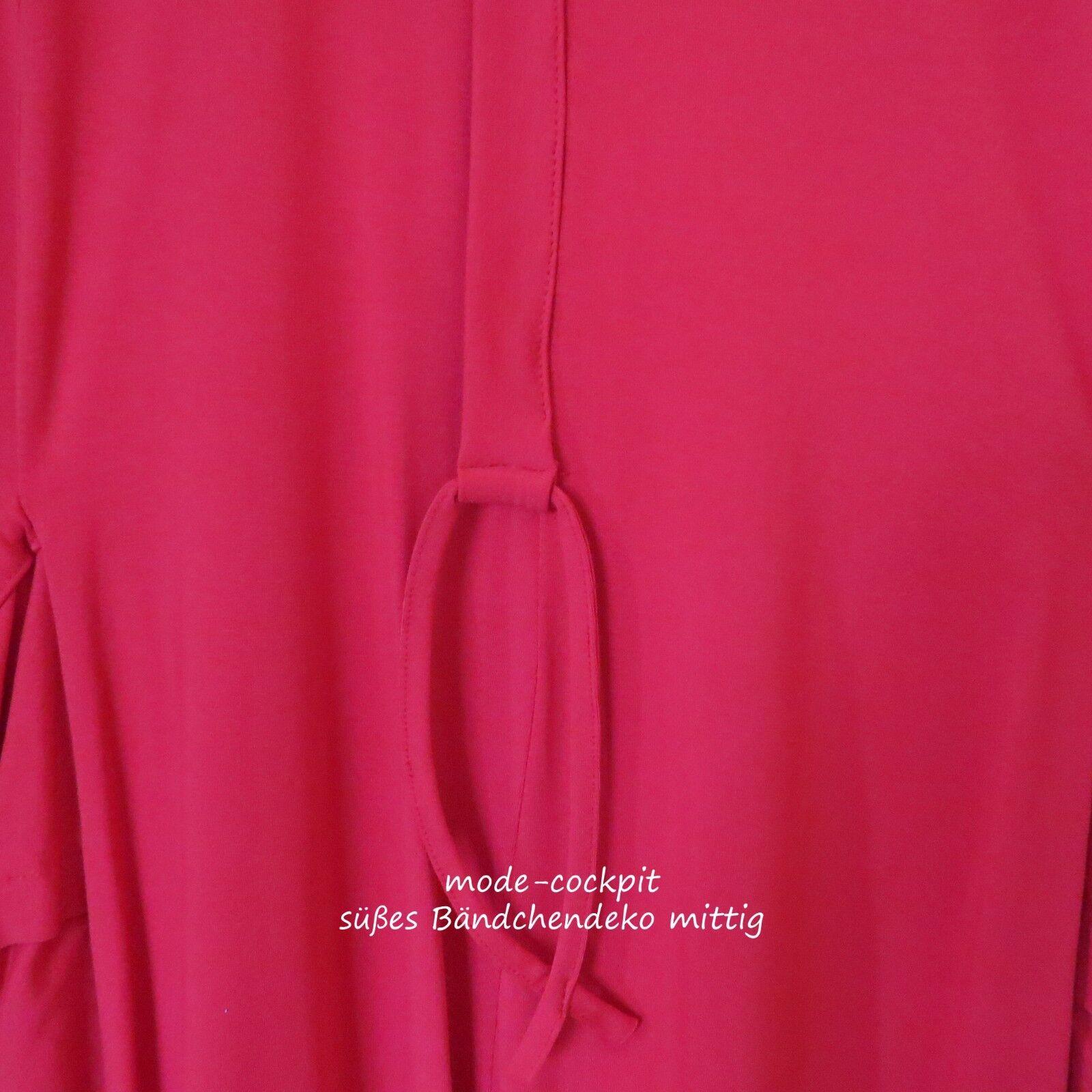 NEW JERSEY tolles Lagenlook Ballon Kleid Tunika Tunika Tunika Beuteltasche rot 48-50 2XL | Förderung  | Exquisite Handwerkskunst  | Smart  632396