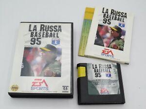 La Russa Baseball 95 (Sega Genesis, 1994)  Complete in Box - CIB