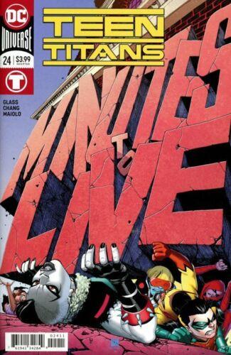 Teen Titans #24 DC Comics Choice of Main or Alex Garner Variant Cover NM