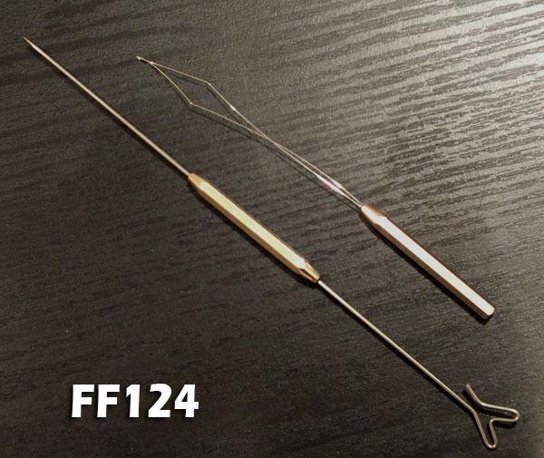 Bodkin / Dubbing Needle / Dubbing Twister, Threader Combo - FF124
