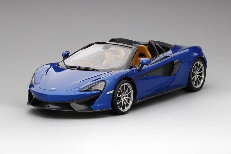 McLaren 570 S Spider ANTARES bleu par Topspeed