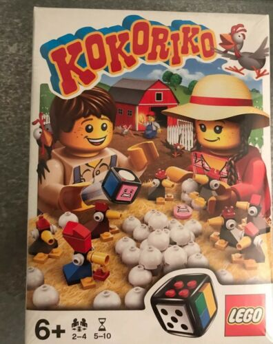 BNIB NEW SEALED✔ FAST P/&P✔ Kokoriko 3863 RARE RETIRED LEGO GAMES
