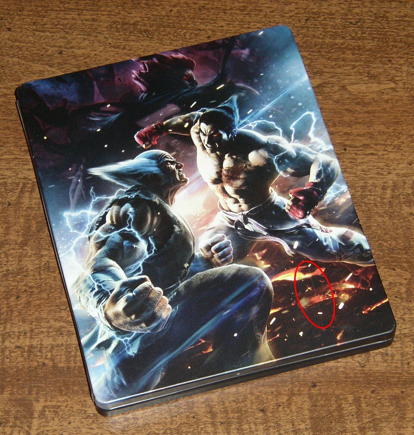 Tekken 7 Exclusive Limited Edition Steelbook Case Only No Game Brand New For Sale Online