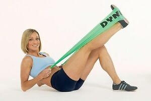 Dyna-Band-Resistance-Exercise-Band-Gym-Keep-Fit-Yoga-Pilates-GREEN-Strength