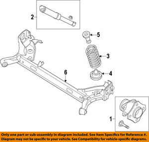 Details about FORD OEM 14-18 Transit Connect Rear Suspension-Coil Spring  DV6Z5560E