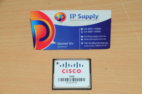 Original MEM-CF-1GB Compact Flash Memory for Cisco 1900 1921 1941 6MthWty TaxInv