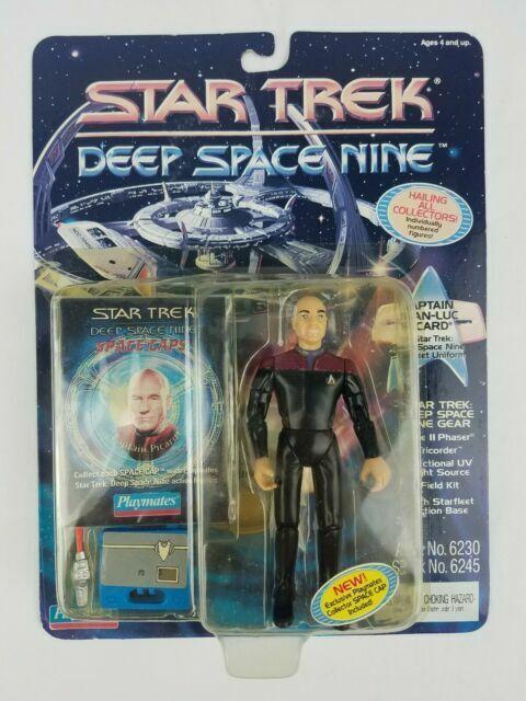 Star Trek Playmates New Frontier Captain Calhoun Figure Communicator SEALED NRFB