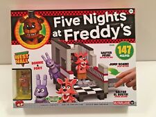 Five Nights at Freddy's EXCLUSIVE WEST HALL CONSTRUCTION SET FNAF LEGO McFarlane