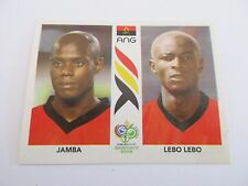 Sticker PANINI Fifa World Cup GERMANY 2006 N°304 Angola Jamba Lebo Lebo