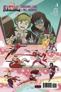 Marvel-Rising-Squirrel-Girl-amp-Ms-Marvel-1-Marvel-Comic-1st-Print-Unread-NM