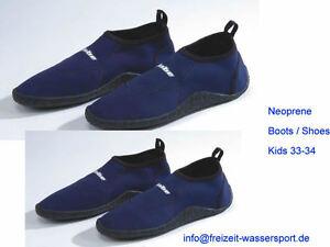Neoprenschuhe Kids 33-34 Boots Shoes Meshgewebe