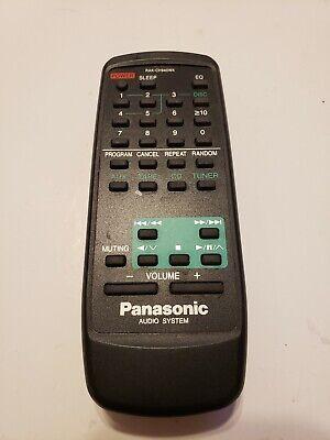 Panasonic Audio System RAK-CH940WK Remote Control (SAAK15 ...