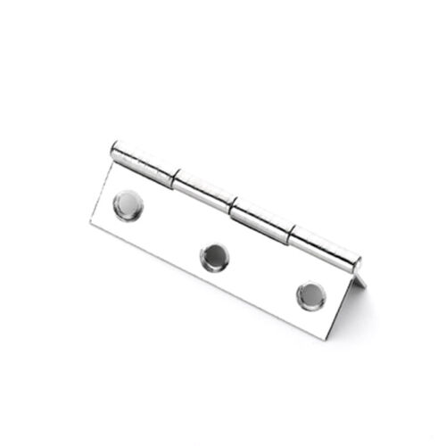 """10Pcs 2/"""" Stainless Steel Home Boat Marine Cabinet Butt Door Hinges 6 Holes US"""