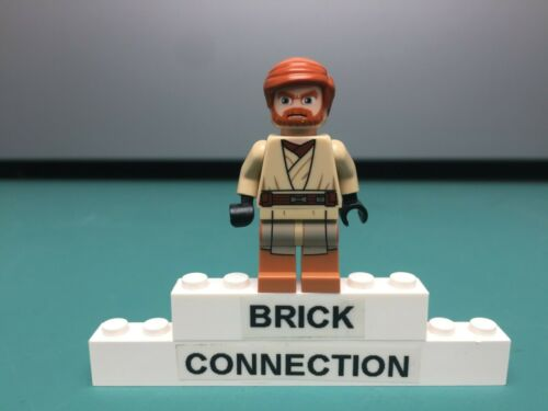 minifigure LEGO Star Wars Obi-Wan Kenobi Medium Nougat Legs