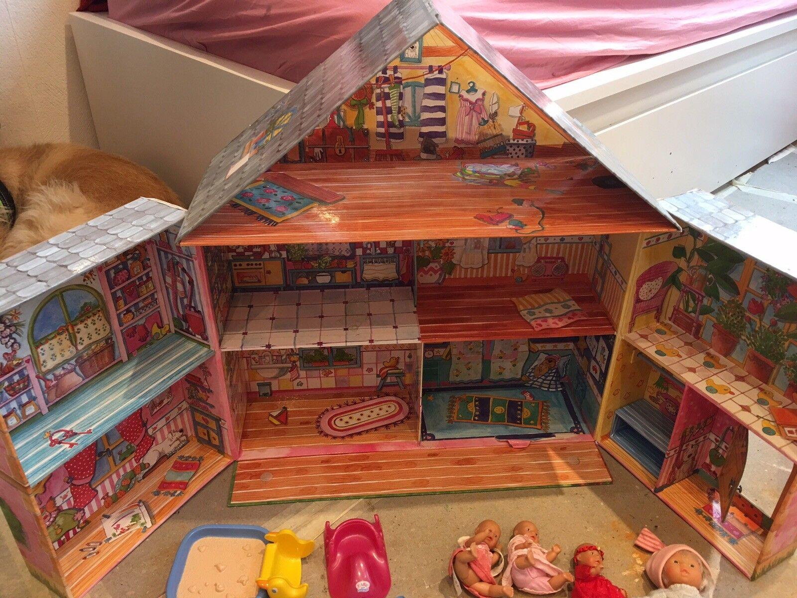 Babyborn Babyborn Babyborn Puppenhaus mit viel Zubehör  | Neues Produkt  a1be90