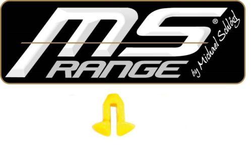 Brun ou Jaune Sweetcorn MS-Range V-Pin Stops dans Clear de Michael Schlögl