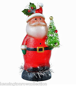 CHRISTMAS-DECORATIONS-LIGHTED-SHIMMER-SANTA-WITH-CHRISTMAS-TREE-FIGURE