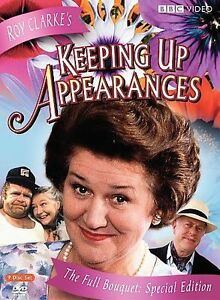 Keeping-Up-Appearances-The-Full-Bouquet-DVD-disc-4-only-no-case-FREE-SHIPPING