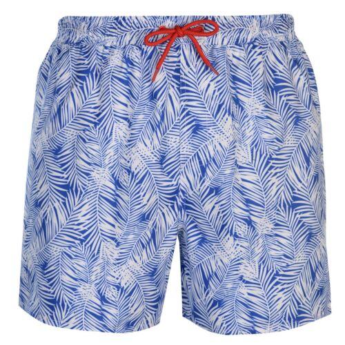 Da Uomo Hot Tuna Blu Hawaiano al Ginocchio Nuoto Swim Surf Pantaloncini Da Spiaggia