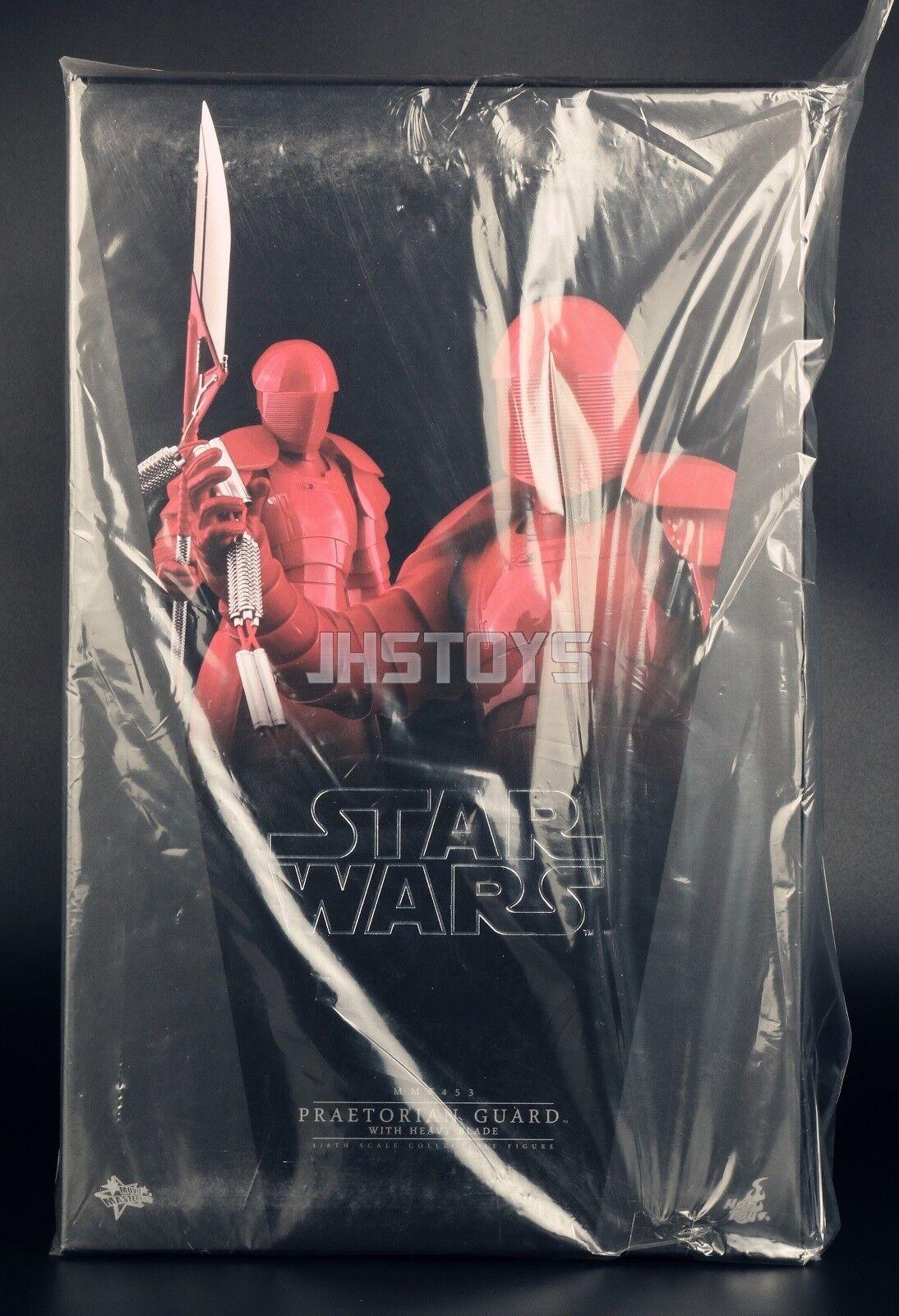 Hot Juguetes 1 6 VIII 8 último Jedi De Estrella Wars Guardia pretoriana con hoja pesada MMS453